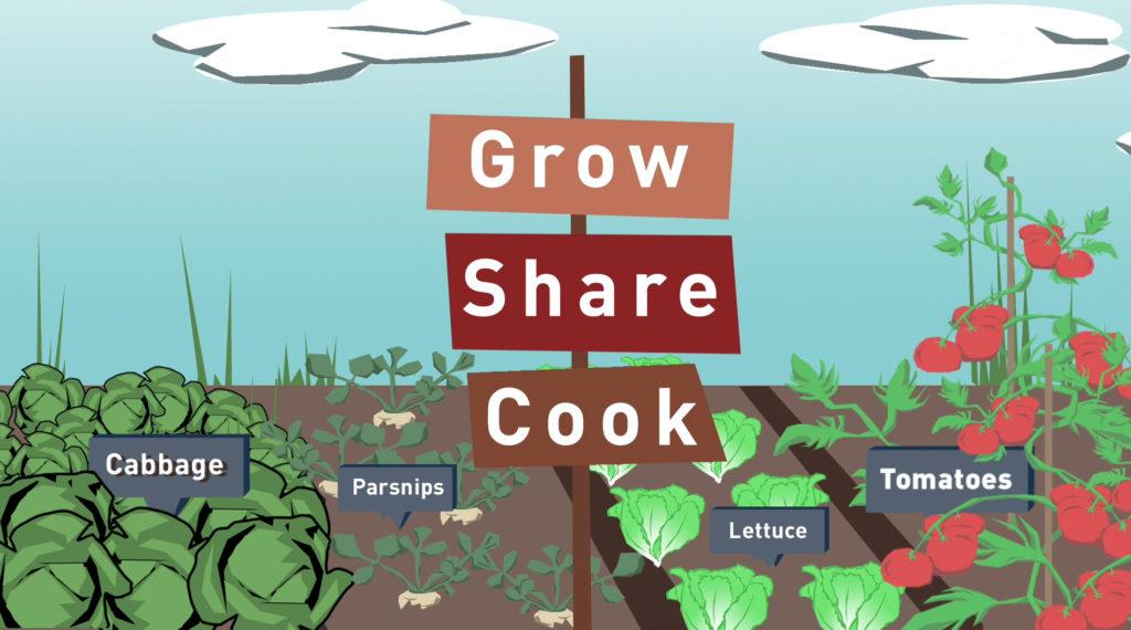 Grow, Share, Cook
